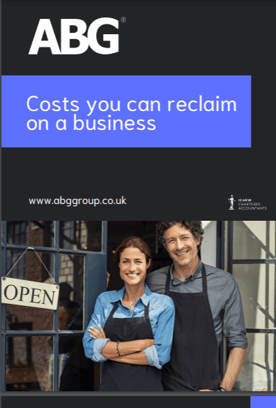Costs you can reclaim on a business