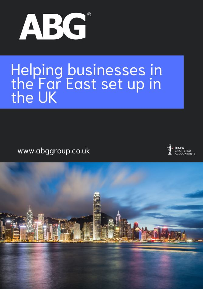 Helping businesses in the Far East set up in the UK